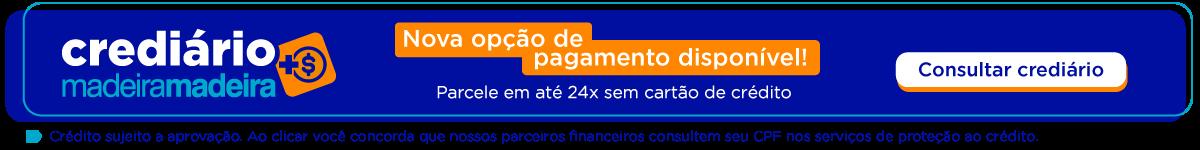 Parcele em até 24x sem cartão de crédito - Crediário MadeiraMadeira - Faça login e descubra