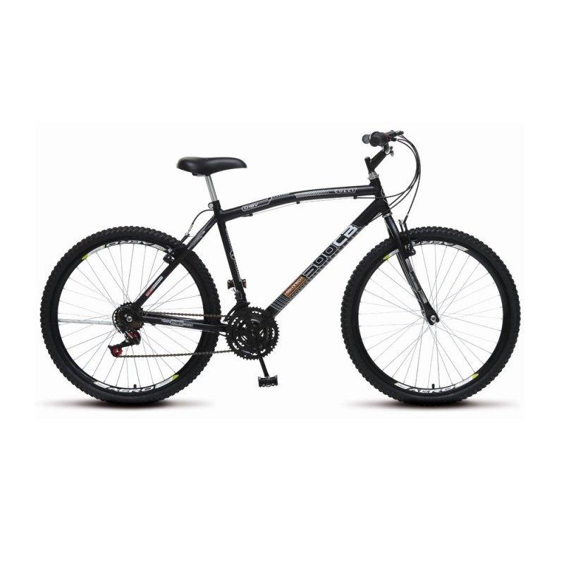Bicicleta Colli Bike Cb 500 Aro 26 Rígida 21 Marchas - Preto
