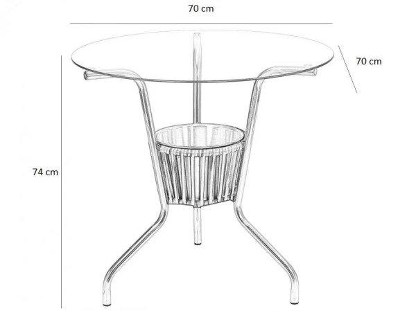 4 cadeiras + mesa para área externa, móveis de piscina ...