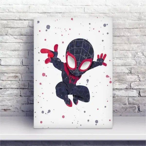Placa Mdf Desenho Homem Aranha Madeiramadeira