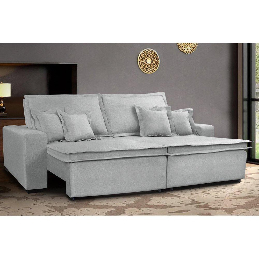 Sofa Retrátil e Reclinável com Molas Cama inBox Premium 2 ...