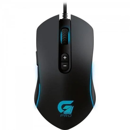 Mouse Usb Óptico Led 4800 Dpis Gamer Rgb M7 64386 Fortrek