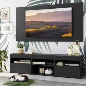 "Rack c/ Painel TV 65"" com 2 portas Londres Multimóveis"