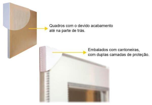 Quadro Decorativo Com Moldura Preta Diversas Frases Motivacionais 60x90cm