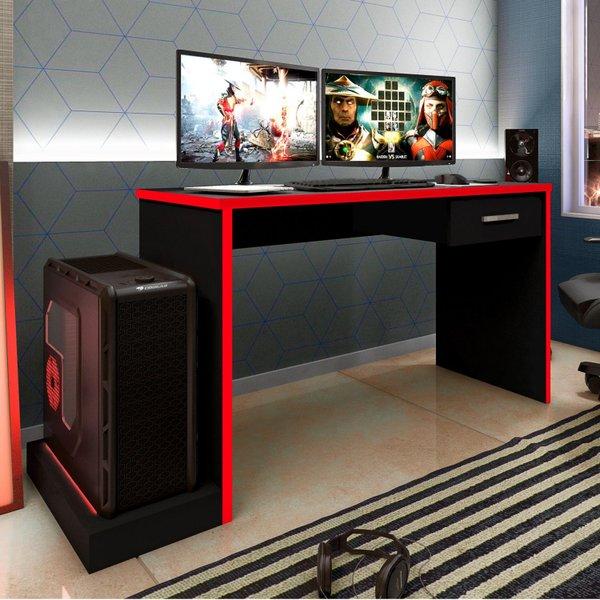 Mesa Gamer 1 Gaveta DRX 9000 Espresso Móveis - imagem destaque 0
