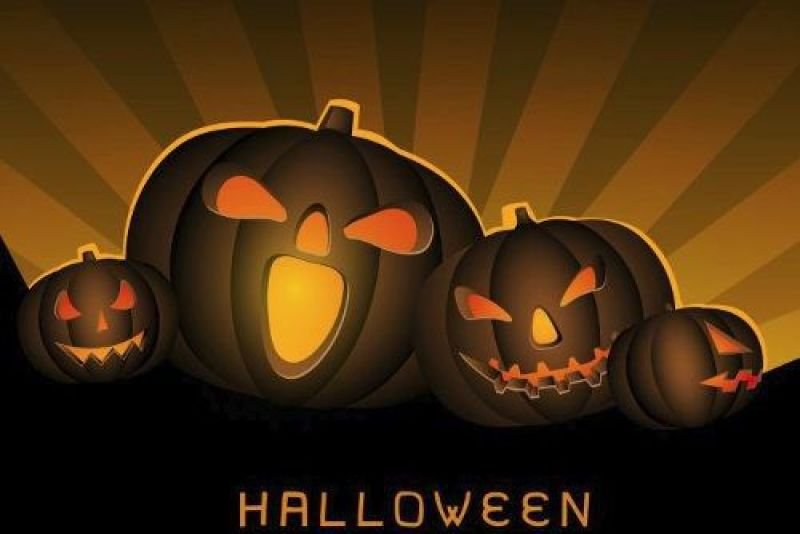 Painel Decorativo Festa Halloween Dia Bruxas 05 150x100